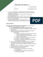 JBS Resume 2014