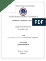 UTILIZACIÓN DE LA TECNOLOGÍA EN EL APRENDIZAJE DE LA MATEMÁTICA.docx