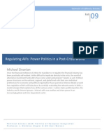 Regulating AIFs