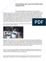 Ver Fútbol En línea Sin coste En El IPad O bien IPhone… Y En Español!.