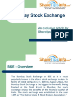 Bombay Stock Exchange - ShareTipsInfo report on BSE