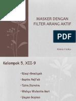 Filter Arang Aktif Pada Masker