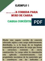 ejemplo 1 zapata corrida para muro de carga.pptx