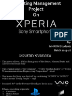 Marketing Management-Sony Xperia