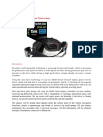 Virtual Goggles OLED Display