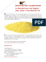 Bile Salt Powder Manufacturer in India