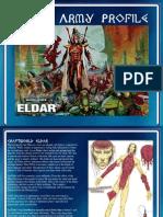 Eldar Army Profile
