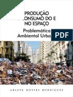 RODRIGUES, Arlete Moyses - Problematica Ambiental Urbana