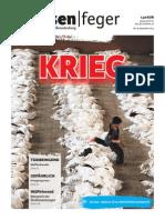 KRIEG - Ausgabe 18 2014 des strassenfeger