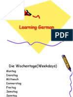 Learning German-Telling Time