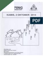 Kliping Berita Perumahan Rakyat, 2 Oktober 2014