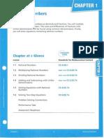 Math 8 Chapter 1