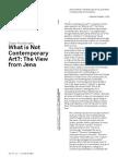 Roelstraete - What is not Contemporay Art.pdf