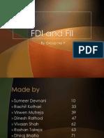 FDI and FII