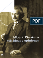 Mis Ideas y Opiniones - Einstein, Albert