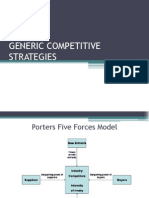 Generic Competitive Strategies