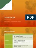 Amblyopia PPT