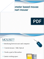 Accelerometer Based Mouse