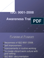 ISO 9001 Awareness Traini 4009505