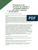 Códigos Numéricos de Sanación para la comida y salud.doc