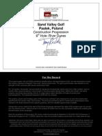 Sand Valley Construction Progression Hole 6. River Dunes Agolfarchitect.com Version 1