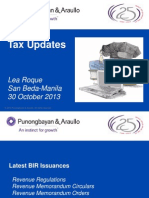 copy of Tax Updates 2013 PandA (Lea Roque)