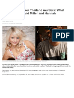 British Backpacker Thailand Murders_ What Happened to David Miller and Hannah Witheridge