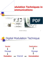 Digital Modulation Techniques in Mobile Communications