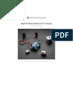 Adafruit Motor Shield v2 for Arduino