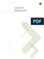 LTE Spectrum Analysis for Future Deployments