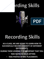 recording task small file