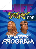12 Week Plan- Buff Dudes