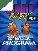 12 Week Plan- Buff Dudes