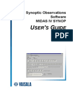 Midas IV Synop User's Guide m010033en-d
