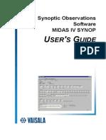 Midas IV Synop User's Guide m010033en-d