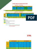 Structura Anului Scolar 201420152