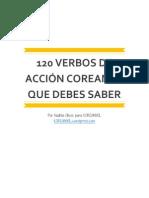 120 VERBOS DE ACCION COREANOS QUE DEBES SABER by Koreanyol.pdf