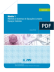 Algebra Linear UFRN Módulo 1.pdf