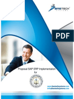 SAP Implementation Proposal