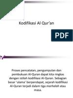 Kodifikasi Al Qur'An