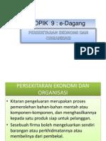 Persekitaran Ekonomi Dan Organisasi(Terkini)