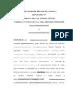mandato judicial y especial para absolver posiciones laboral.docx
