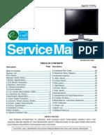 Dell TFT-LCD Color Monitor E177FPc Service Manual