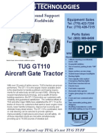 Aircraft Gate Tractor