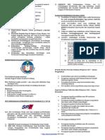 Nota Sendat SPP 2011