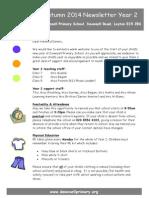 Newsletter Autumn 2014
