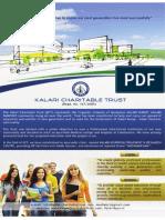 Kalari Charitable Trust - Flyer