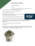 Calculadora De Impuestos De | Su Dinero