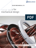 AutoCAD Mechanical 2015 Overview Brochure - A4