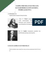 Ruang Sampel Percobaan Dan Peluang Kejadian Dari Berbagai Situasi Serta Pembelajarannyabbb22